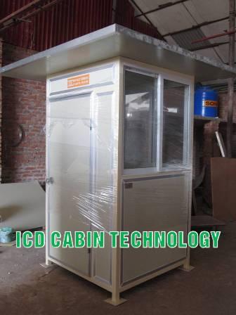Bốt gác bảo vệ công trình bằng Panel chống nóng
