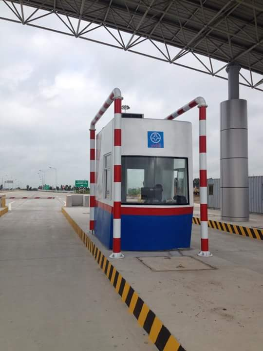 Trạm thu phí (cabin thu phí) giao thông