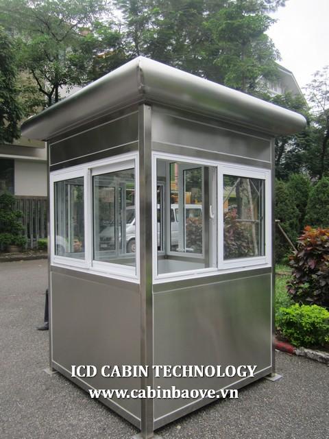 Cabin inox cao cấp hình vuông BGI-1515