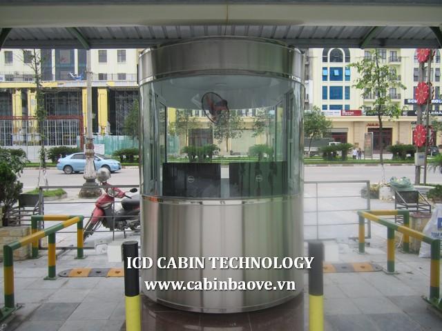 Cabin inox bầu dục cao cấp BGI-1625