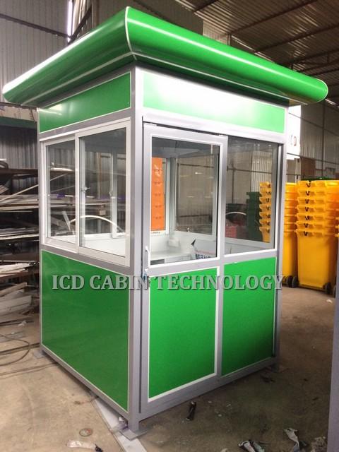 Cabin bảo vệ khung thép ốp hợp kim GT-1515