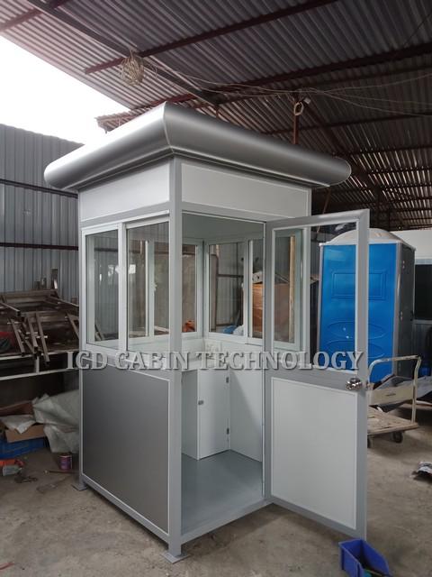 Cabin nhà bảo vệ khung thép GT-1212